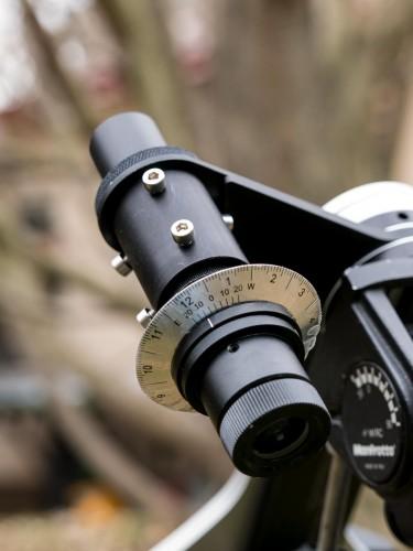Universal Polarscope adjustment adapter