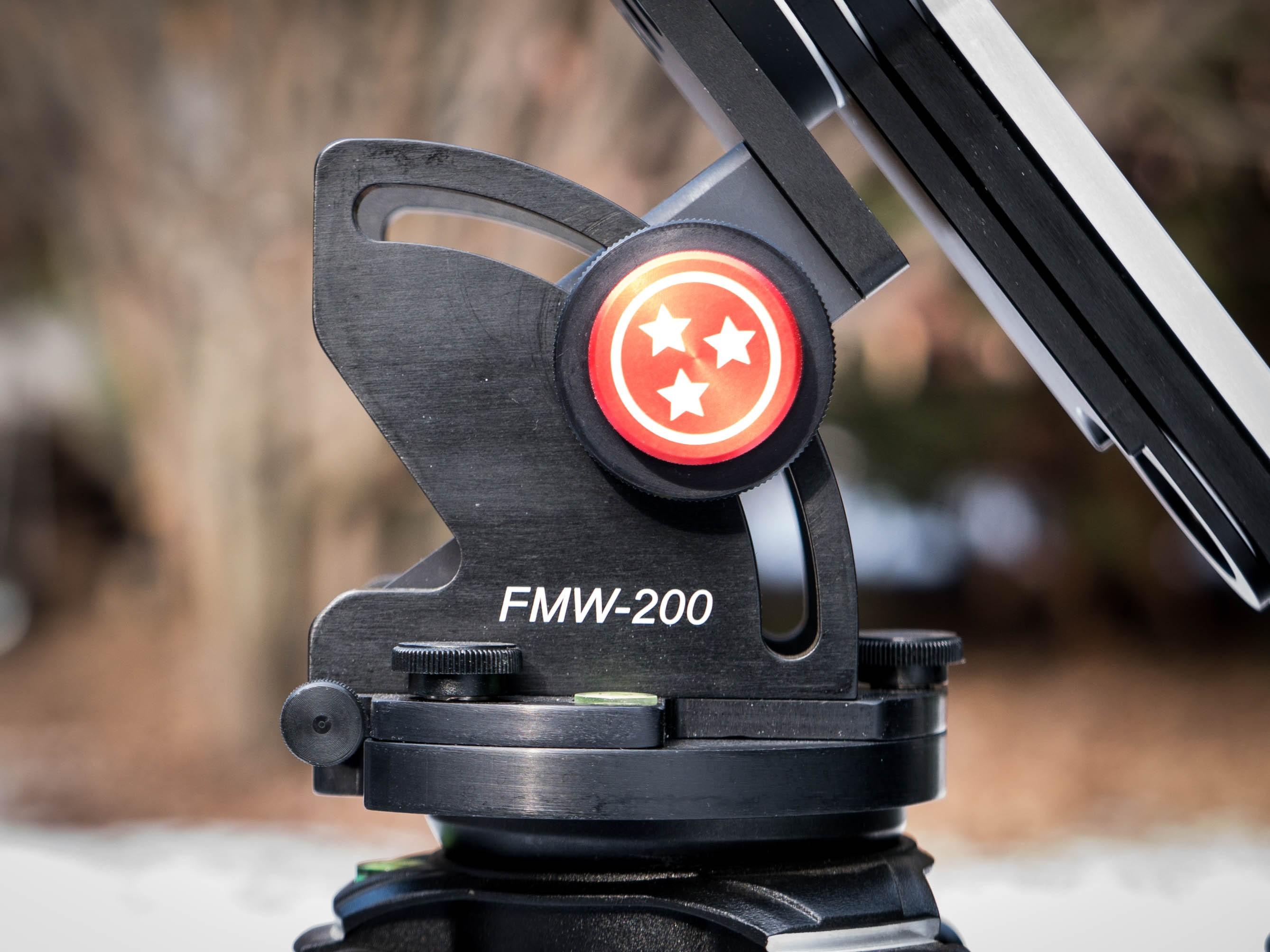LighTrack II on FMW-200 wegde