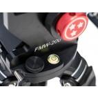 Bubble lebel on FMW-200 wedge