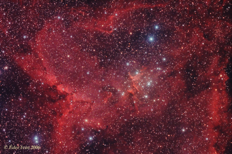 The part of North-America nebula