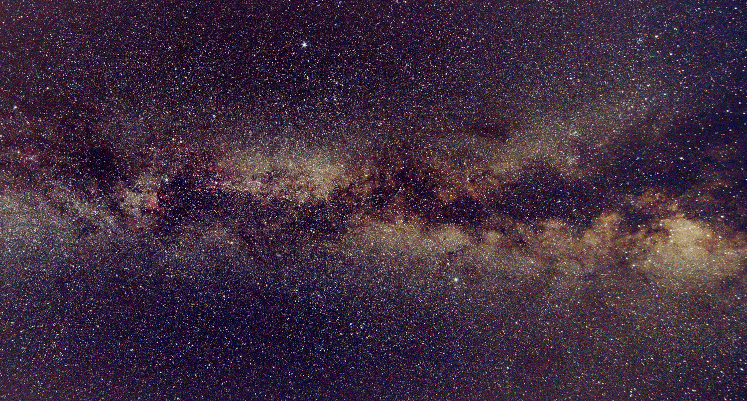 lightrack II astrophoto milky way