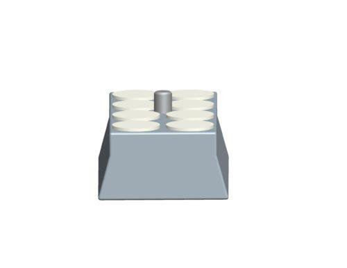 Arca-Vixen plate-350