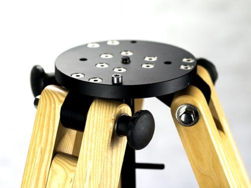 FMTP-590 Portable wood tripod for EQ mounts -360